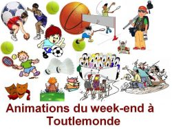 Animations WE du 18 & 19 janvier 2020