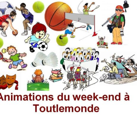 Animations WE du 24 & 25 octobre 2020