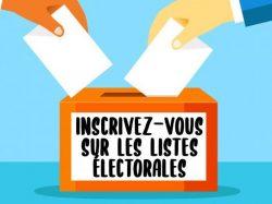 Inscriptions sur les listes électorales, pensez-y !