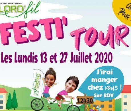 FESTI TOUR le 13 et 27 juillet 2020 à Toutlemonde