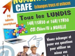 Numérique Café au CSI Chloro'fil