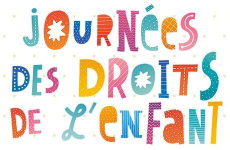 Journées des droits de l'enfant du 2 au 30 novembre 2020