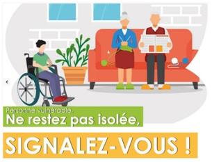 Registre communal des personnes vulnérables : signalez-vous