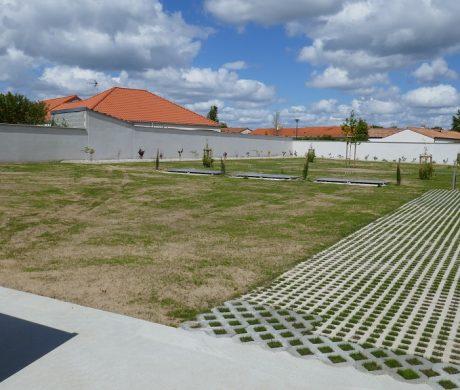 Extension du cimetière