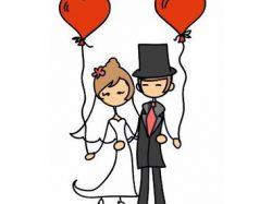Remerciements pour la corbeille des mariés