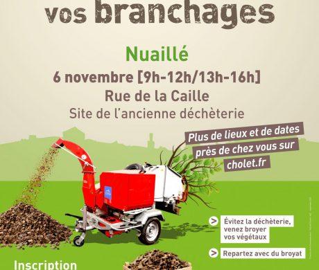 Broyage de vos branchages à Nuaillé